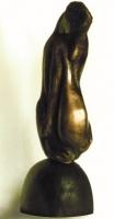 Състояние, бронз, Вида Щипкова - преподавател по Скулптура и Анатомия