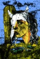 Fallen angels-She, см. техника, Михаил Маламски - преподавател по Графика, Скулптура и Рисуване