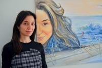 Кристина Кутлова - преподавател по Стенопис